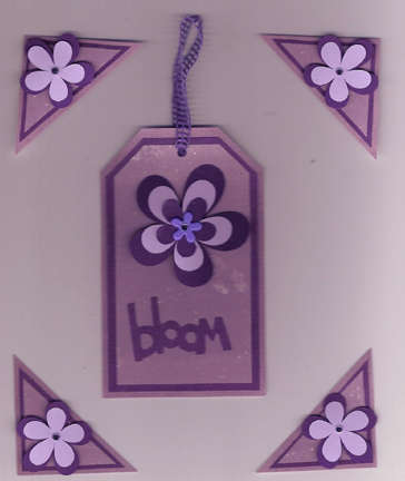 """""""Bloom"""" Tag and corners"""