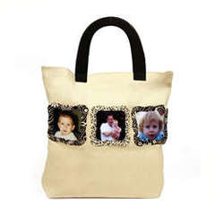 personalized canvas tote