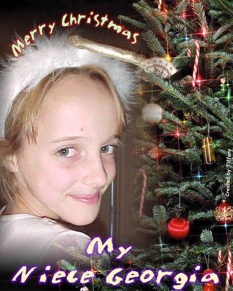 Christmas  My Niece Georgia (1)
