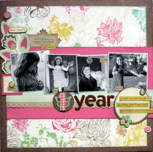 1 Year {Share with Flair Feb Kit}