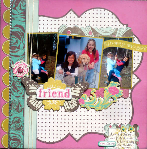 Friend {Share with Flair Feb Kit}