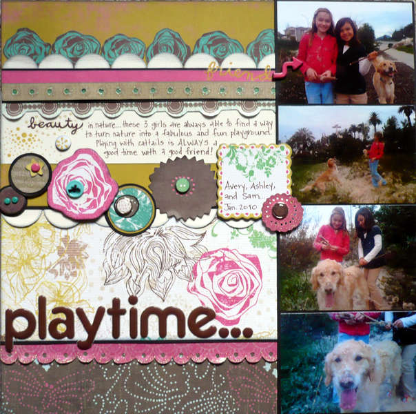 Playtime {Share with Flair Feb Kit}