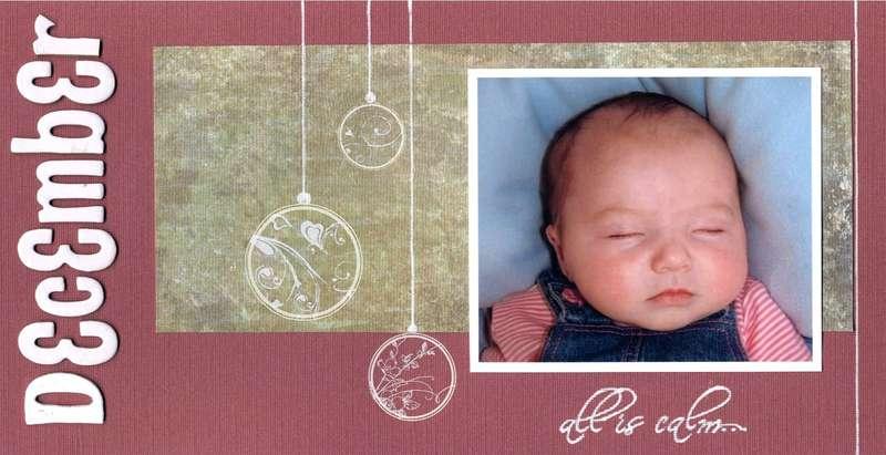Grandparents' Calendar 2009 - December