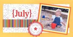 Grandparents' Calendar 2009 - July