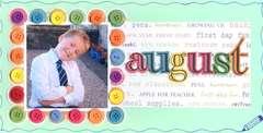 Grandparents' Calendar 2009 - August