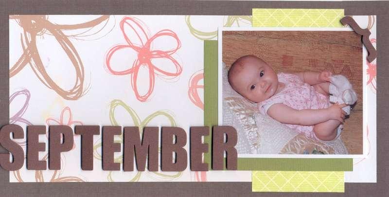 Susan's Calendar 2009 - September
