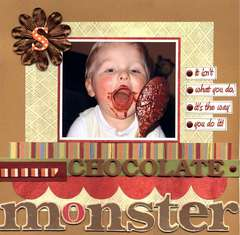 Chocolate Monster