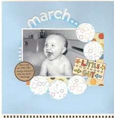Sam's Calendar 2010 - March