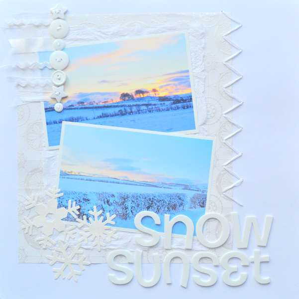 Snow Sunset