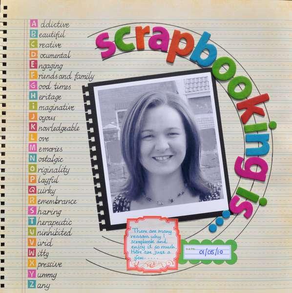 Scrapbooking is ...