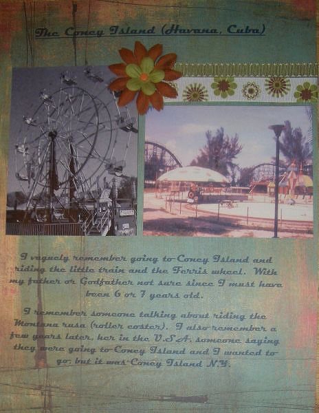 THE CONEY ISLAND (Havana Cuba) **DW 2007 & Childhood**