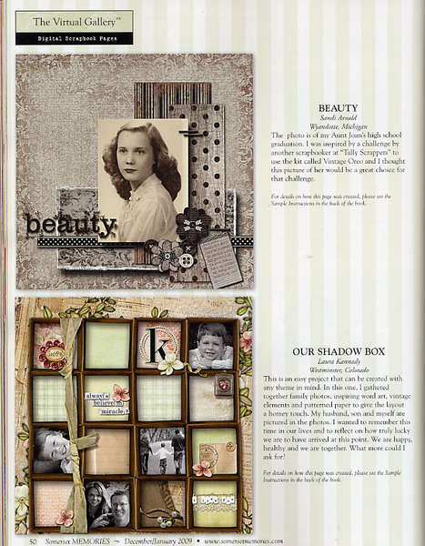 Beauty Published Layout!