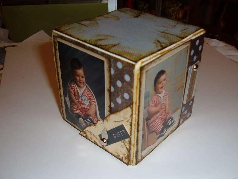 Altered wooden block