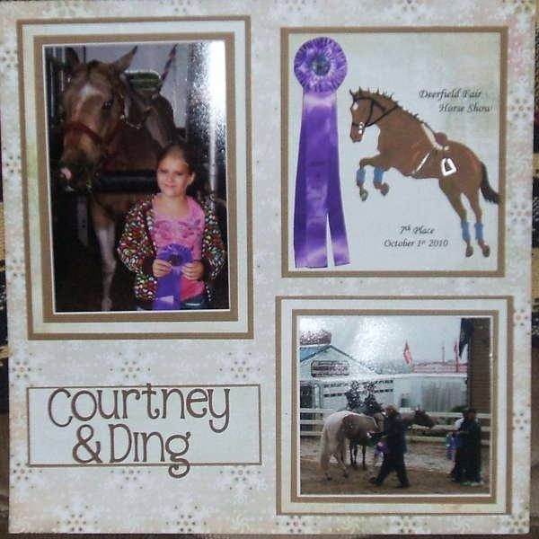 The Last Picture from the horse show