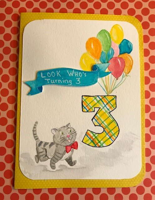 watercolor card class