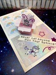 Unicorn box cards