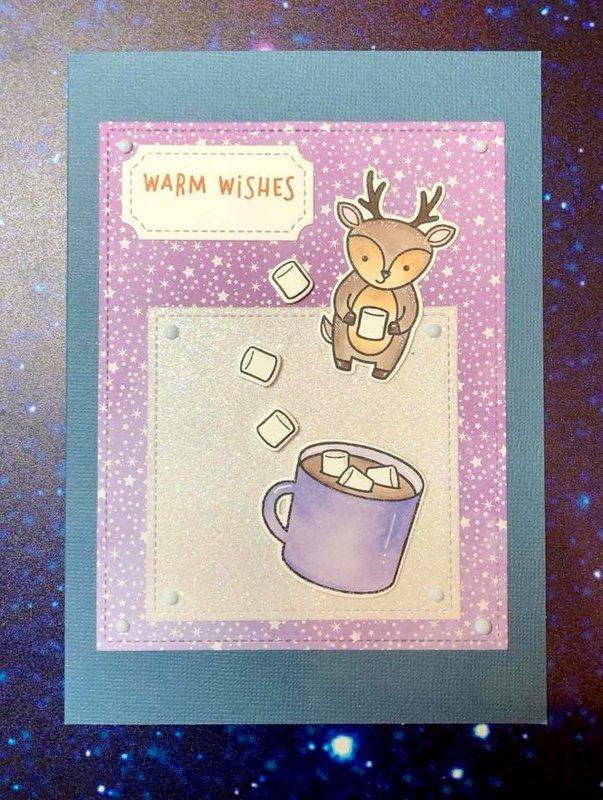 Hot chocolate card