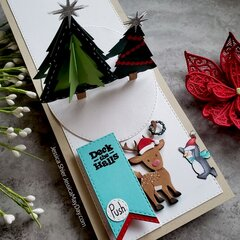Light Up & Pop Up card
