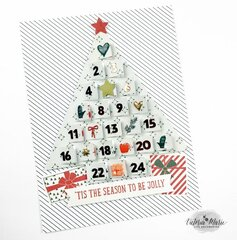 Advent Tree Digital Cut File - Scrapbook.com Exclusive
