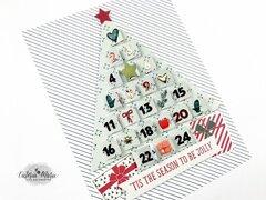 Advent Tree Digital Cut File - Scrapbook.com Exclusive