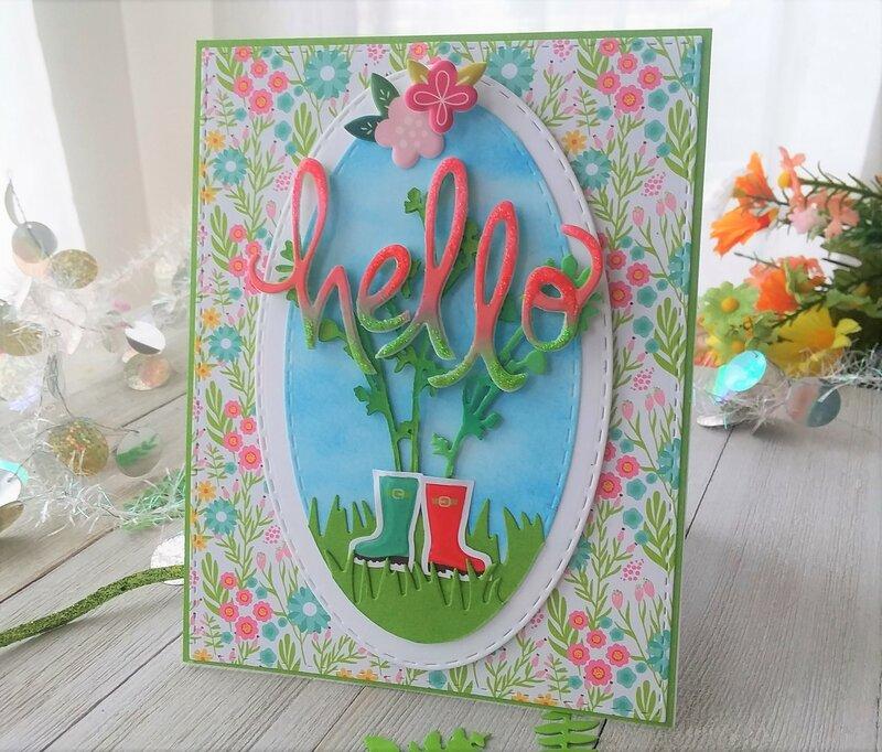 Hello Spring Flower 2