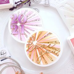 Sunburst Circle Cards