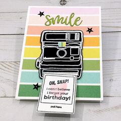 Oh Snap Slider Card