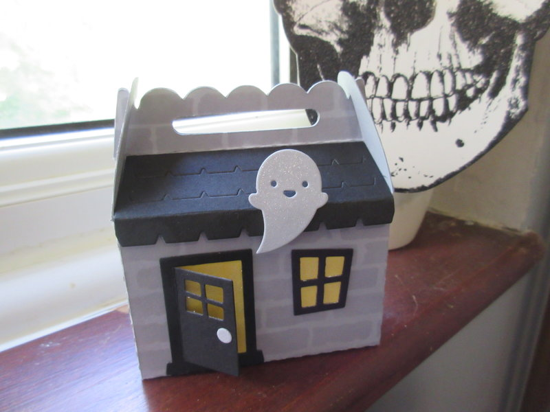 Lawn Fawn Haunted House Gable Box Halloween 2018 Series 3