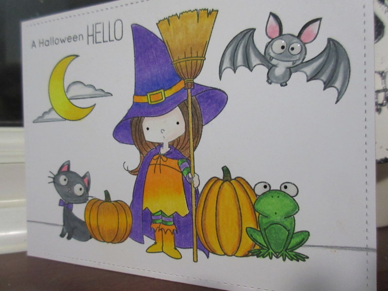 One Layer Card | MFT | Witch Way Is The Candy? | Halloween 2018 Series 4