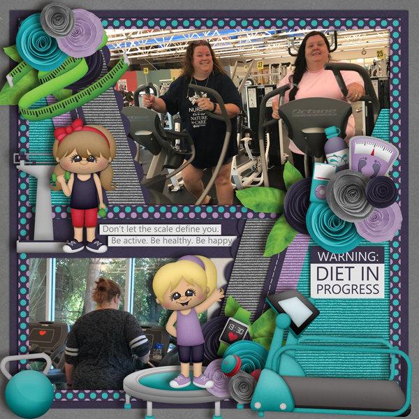 A Healthier Me by BoomersGirl Design