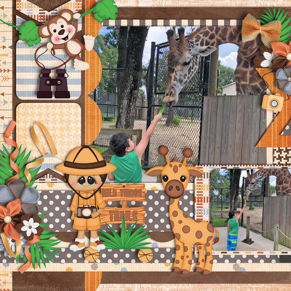 Animal Kingdom by Heather Z Scraps