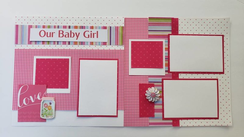 Our baby girl layout