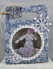 Let it Snow Gift Card Holder