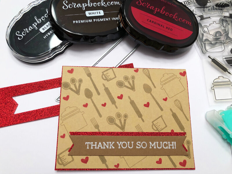 Cooking Themed Thank You