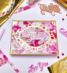 Gold Foil Birthday Card