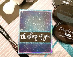 Thinking of You Universe Card