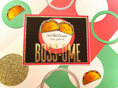 Taco Boss's Day Card