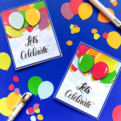 Balloon Celebration Card