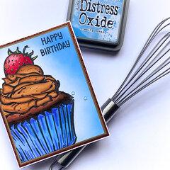 Big & Bold Cupcake Card