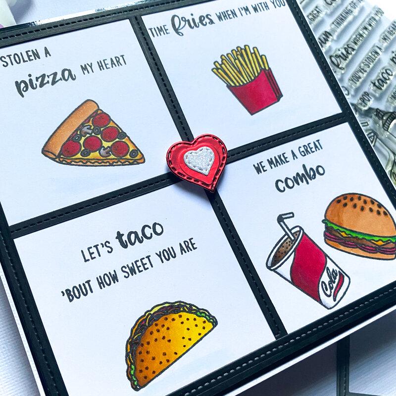Food Is Love Card