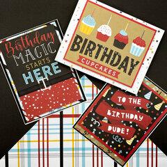 Magical Birthday Boy Cards