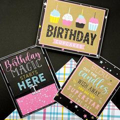 Magical Birthday Girl Cards