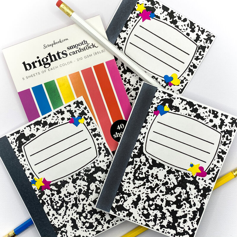Composition Notebook Cards