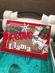 Falalala Christmas Llama