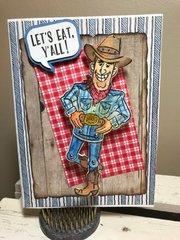 Texas Thanksgiving card