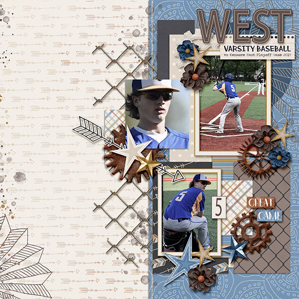 West Varsity Baseball