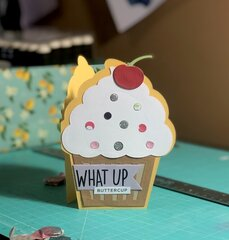 Sizzix and SSS Cupcake