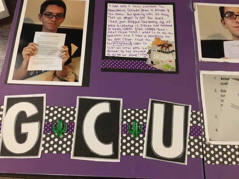 College Acceptance letter (pg 1)