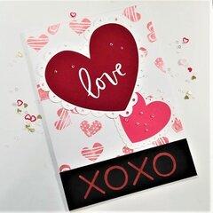 Valentine Cut File Card