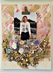 Cherishing Memories and belongings Mixed Media